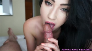 MHBHJ - Aria the pose nylons mhb point of view pov oral sex huge cock mark rockwell edging marks head bobbers small tits slow teasing blowjob mhbhj big dick booty