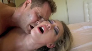 Kagney Linn Karter - Internal Investigation  bed lingerie big-tits shaved-pussy blonde blowjob pornstar big-boobs missionary hardcore kagney-linn-karter cowgirl butt big-dick latin high-heels doggystyle slim-thick pierced-pussy undercut