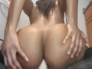 TRAILER: Anal Dildo Ride and Butt Plug Tease