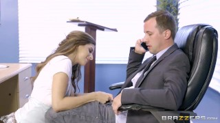 Brazzers - Nina North is a very bad schoolgirl young heels socks school-girl shaved tight uniform big-tits big-boobs school skirt brunette brazzers kneehighs teenager doggystyle