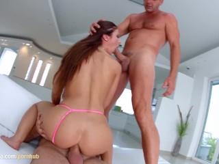 Regina Crystal gets a creampie after sex at All Internal
