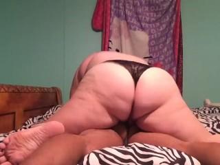 Sexy panty tribbing