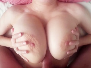 POV 69 Blowjob and big titty fuck