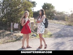 DaughterSwap – Teen cam girl fucked by best friends dad