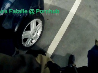 Naughty step sister very risky public masturbation - Laura Fatalle