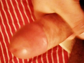 Latino masturbating part 2 (ends with creamy cum shot)