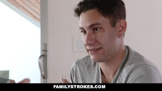 FamilyStrokes - Scavenger Hunt With Step-sis turns sexual  step siblings zelda morrison redhead blonde cfnm cumshot hardcore smalltits familystrokes stepsis bigcock facialize facial doggystyle step brother clothed sex natural tits step sister pale