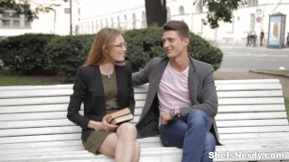 Preview 2 of She Is Nerdy - Mixing sex with English studies