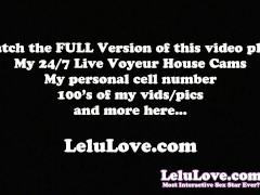 Lelu Love-Catsuit FemDom CBT Denial