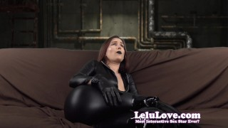 Lelu Love-Catsuit FemDom CBT Denial  ass tits homemade boobs booty amateur naked kink pussy lelulove brunette nude candids selfies