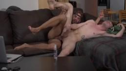 GayRoom - Str8 Guys Jordan Boss & Adam Bryant Do Anal