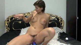 Preview 6 of Teen with perfect natural ass fucked by Dragon in ass - Vic Alouqua
