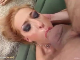 Blowbang group blowjob given by Mercy on Cum For Cover