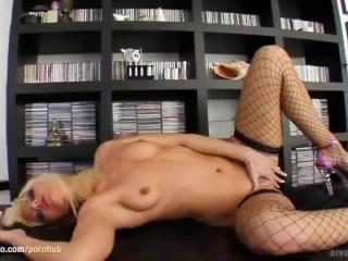 Sandra Sanchez enjoying her body on Give Me Pink gonzo style