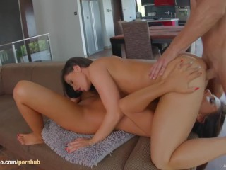 Athina gets a creampie after sex at All Internal