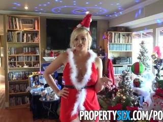 PropertySex - Venditrice di case con tette grosse usa un caldo regalo per vendere