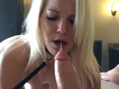 Public Sub Training - Slut on A Leash :)