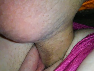 Big cock tranny playing her dick