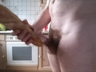 So French! Cum loaded sandwich jambon - beurre - sperme (solo male)