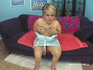 Blonde Midget Gets Fucked By Horny Boy