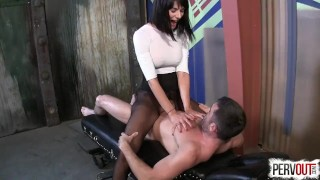Alien Sex Slave with Arena Rome + Lance Hart  arena rome face sitting sensual femdom big-tits ruined-orgasm alien 69 pantyhose kink lance-hart male-slave leotard sweetfemdom cum inside her