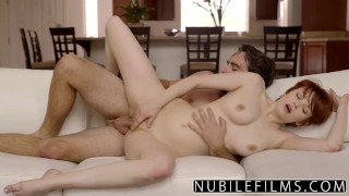 NubileFilms - Intimate Roughness With Bree Daniels redhead hard fast fuck rough nubilefilms blonde romantic sex babe big-cock hot-sex for women natural-tits eating-pussy cunnilingus big-tits orgasm skinny doggystyle
