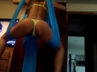 BEHIND THE SCENES PREPARING FOR EXTREME HARD ANAL ACROBAT SEX. PART 1