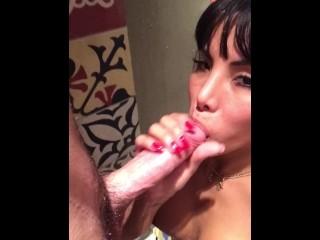 Jessica valle trans suck dick