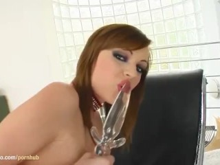 Watch masturbate Mya on Give Me Pink gonzo style