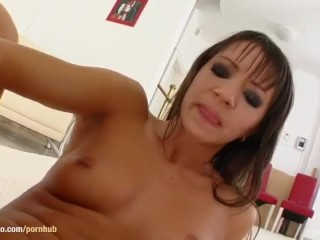 Aiden masturbating with fingers on Give Me Pink