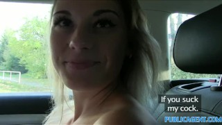 PublicAgent Sexy teacher fucking in a car  sex-for-cash publicagent amateur real camcorder sex-for-money cumshot teacher outdoors public big-tits outside pov sex-with-stranger reality point-of-view