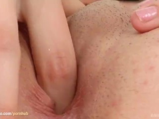 Daisy West masturbating with fingers on Give Me Pink