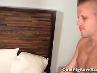 Cub barebacking tight ass in underwear duo