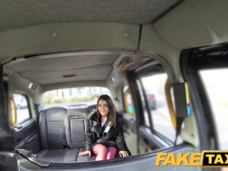 FakeTaxi Italian beauty gets deep anal sex