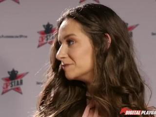 DP Star 3 - Hot Natural Brunette Cassidy Klein Deep Throat Blowjob