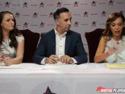 Nikki Benz & Tori Black judging girls blowjob skills in DPStar Season 3 Ep4