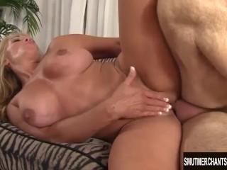 Sexy Blond Granny fucked good