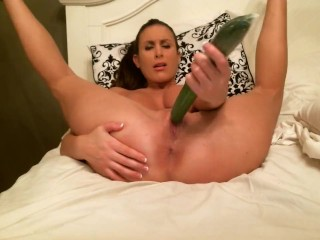 aleah jazzman ducks huge cucumber