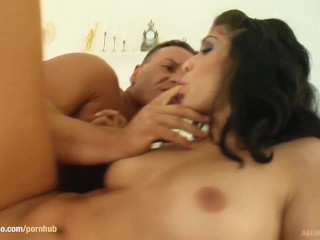 Aleah in hardcore creampie scene from All Internal