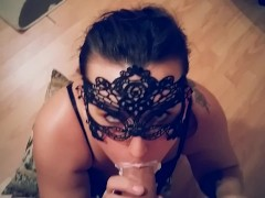 ROUGH DEEPTHROAT FACEFUCK WHIPPED CREAM PARTY CUM IN MOUTH