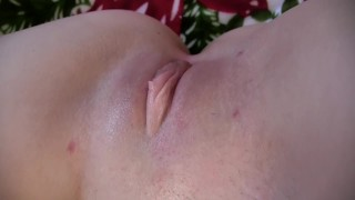 LindseyLove - Anal & Pussy Up Close Creampie