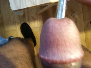 Urethral Sounding Black Dick POV