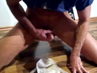 Blowjob to underwear