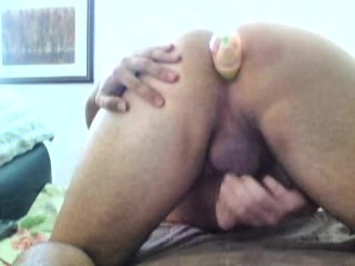Anal Destruction, Bottle Insertion - Cumming While Brutally Punch Fucking