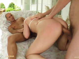 All Internal presents Shannya Tweens getting a creampie