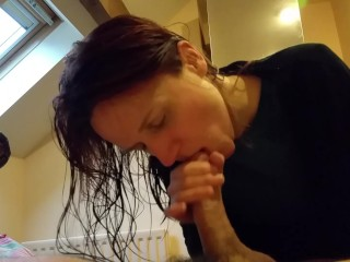 Quick new year's BJ!