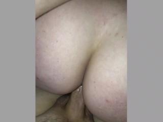 Girlfriend riding cock