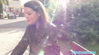 PublicAgent Sexy student creampied outdoors  outdoors creampie outside point-of-view sex-for-cash amateur vany-ully public pov real camcorder sex-for-money reality student publicagent sex-with-stranger
