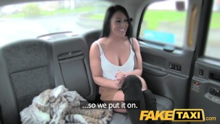 Preview 1 of FakeTaxi Infamous John fucks taxi fan hard
