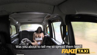 FakeTaxi Infamous John fucks taxi fan hard dirty faketaxi rough sexy amateur blowjob rimming pussylicking spycam public car pov brunette reality oral camera
